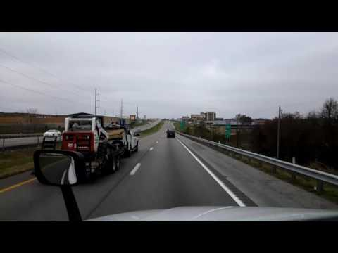 Bigrigtravels Live! - Peculiar to Kansas City, Missouri - Interstate 49 - November 24, 2016