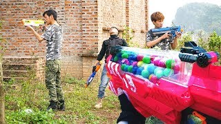 CF Legends Real Life: ROOMMATE BATTLE Nerf Guns Squad Game NERF WAR
