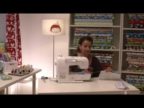 dawanda n hschule wie n he ich einen rei verschluss ein youtube. Black Bedroom Furniture Sets. Home Design Ideas