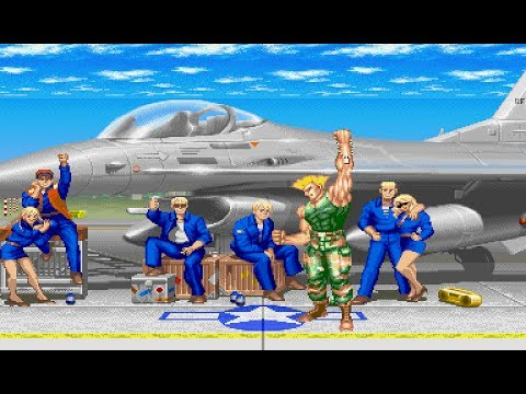 Super Street Fighter II OST Guile Theme