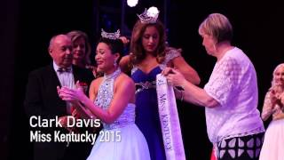 Clark Janell Davis was crowned Miss Kentucky 2015 on July 4, 2015, in the University of Kentucky Singletary Center for the Arts.