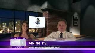 Johansen High School - Viking TV - News Broadcast #8 - 8/27/14