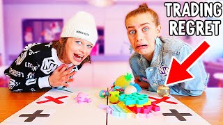 LOSING HER WHOLE BOX OF FIDGETS ? Fidget Trading w/The Norris Nuts