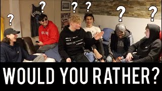 Would You Rather? IMPOSSIBLE Question Challenge!