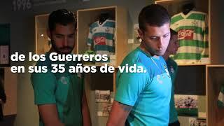 embeded bvideo Goles y pasiones | Visita Club Santos el Museo Arocena