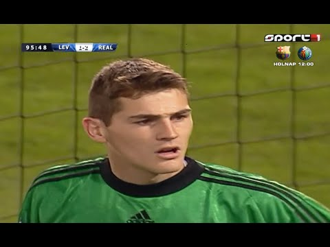 Young Iker Casillas - Sensational Saves Real Madrid