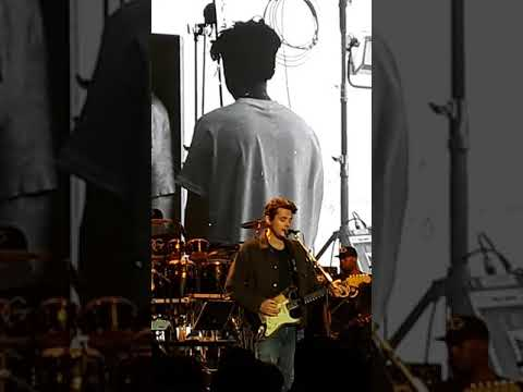 "John Mayer ""Small Worlds"" A Celebration Of Life"