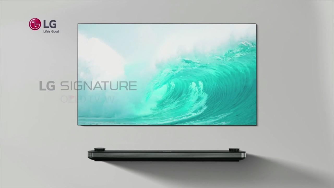 LG Signature OLED TV en exclusiva en El Corte Inglés - YouTube