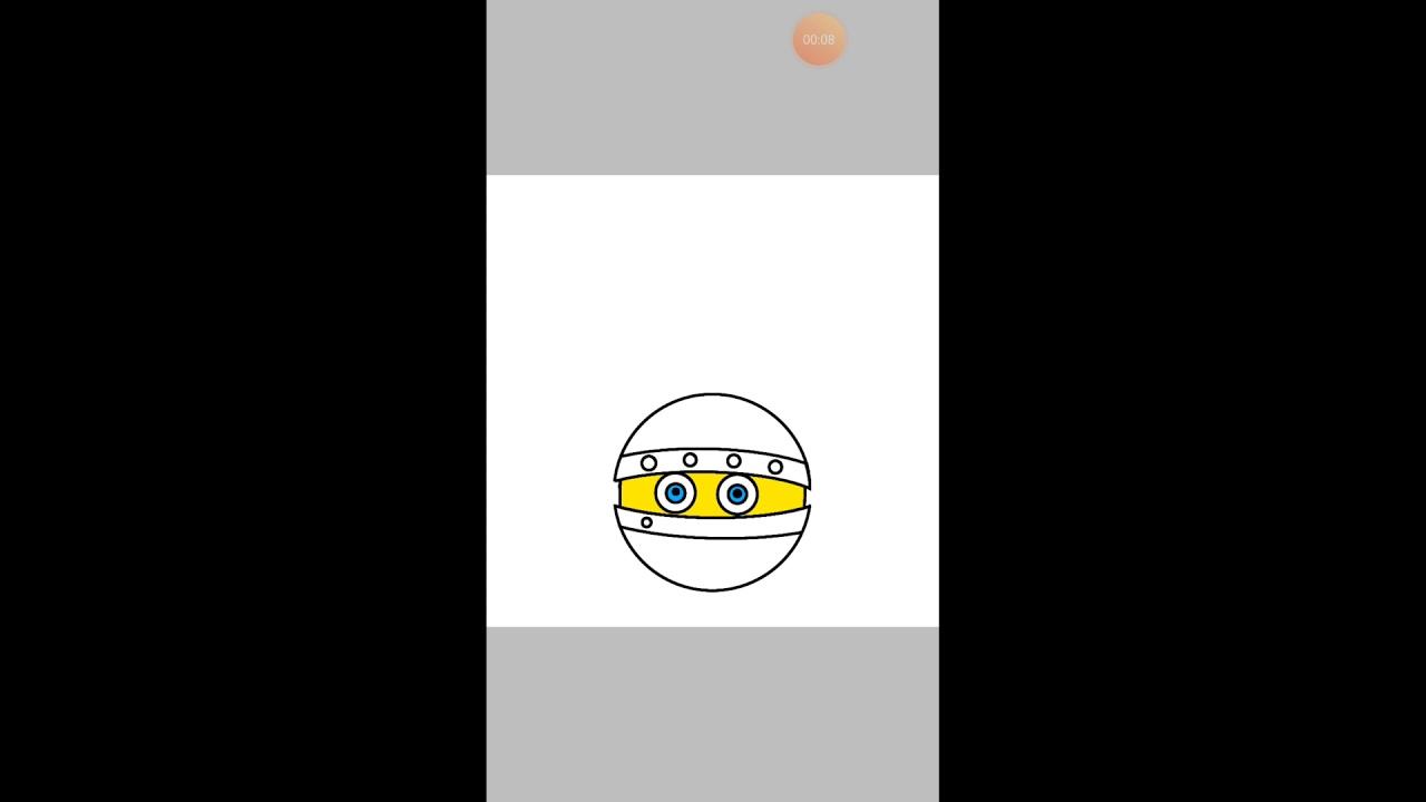 Рисунок Биби из мультика Смешарики - YouTube