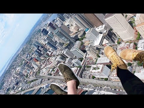 Seattle Tour Helicopter Ride | Open Door Helicopter | Space Needle | Columbia tower