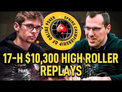 SCOOP 2020 #17-H $10k CrownUpGuy | Mararthur1 | RuiNF Final Table Poker Replays