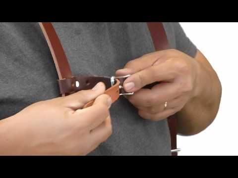 How to Adjust Stronghold® Suspenders by Occidental Leather