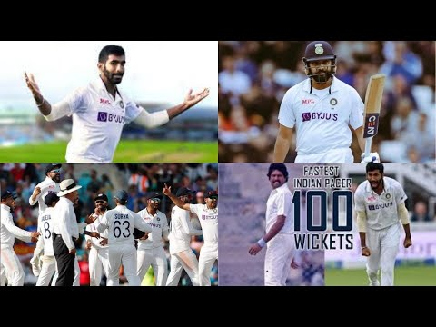 Bumrah becomes fastest Indian pacer to take 100 wickets in Test cricket history