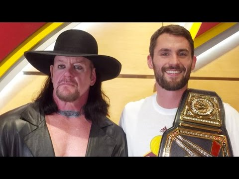 The Undertaker Crashes Cleveland Cavaliers Locker Room