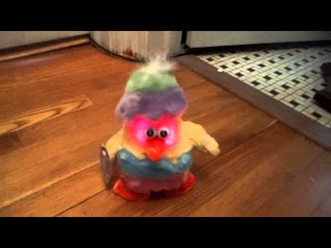 Easter Chicken Dance Lights Up Dan Dee Musical Animated Toy Stuffed Animal