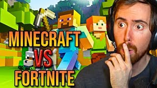 Asmongold Canand39t Believe Minecraft Is More Popular Than Fortnite After Reacting To Hytale Trailer