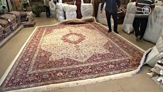 видео Самый большой ковер в мире сотканный вручную