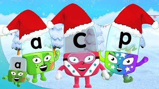 Alphablocks - C is for Christmas Carols | Learn to Read | Phonics for Kids | Learning Blocks