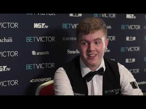 18-Year-Old Aaron Hill Downs The Rocket! | BetVictor European Masters