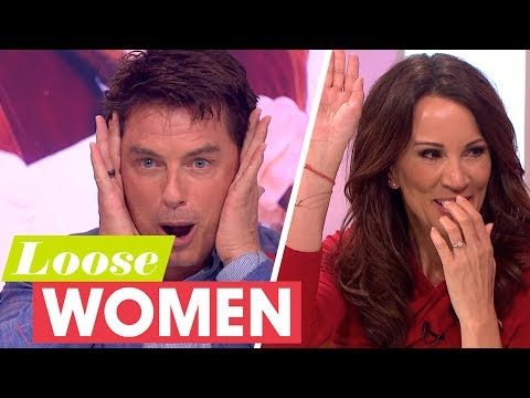 John Barrowman Gets Andrea to Confess to Being Very Naughty!  Loose Women