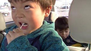 ふざけてアメを食べるといつもこうなる  ひなごんとおいちゃん  SunflowerTV thumbnail