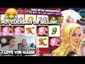 BIG WIN!!!! Lucky Ladys Charm - Casino Games - bonus round (Casino Slots)