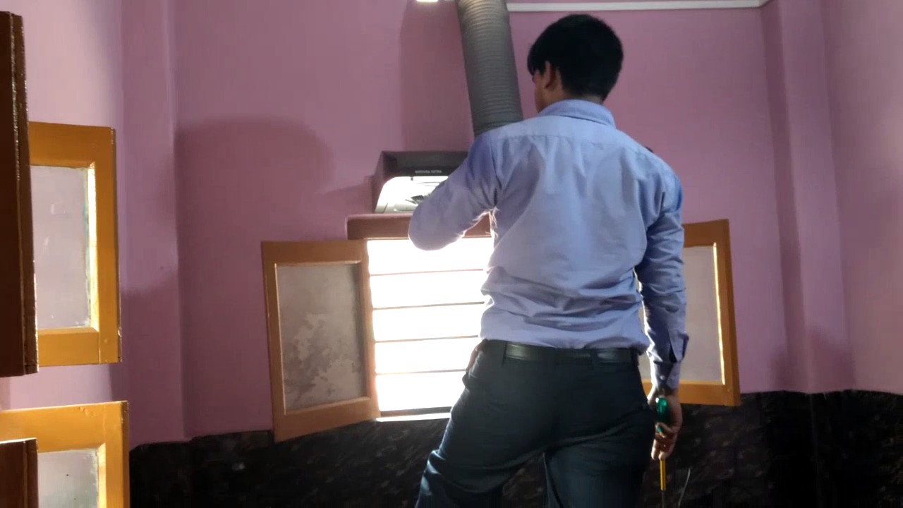 How To Install Kitchen Chimney  YouTube