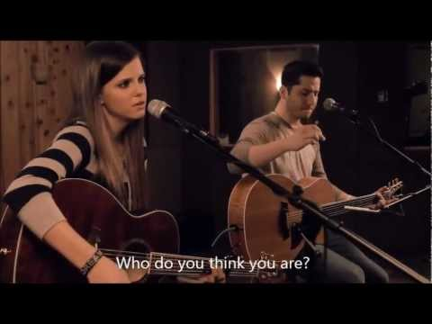 Jar of Hearts w/ lyrics - Christina Perri (Boyce Avenue feat Tiffany Alvord Cover)