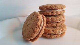 [1분완성] 국희샌드 땅콩 쿠키 만들기 Bake pen…