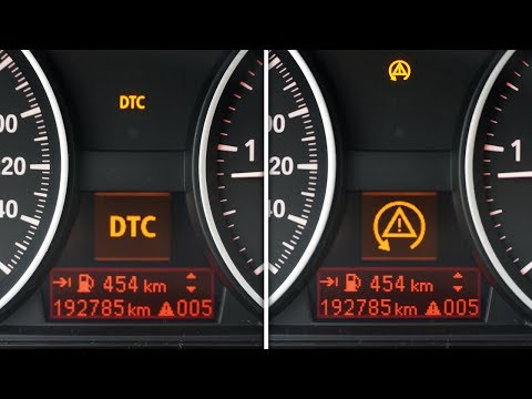 BMW dynamic traction control, how to turn it off