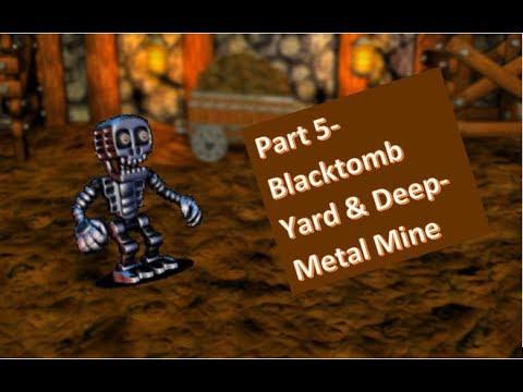 Fnaf World Part 5 Blacktomb Yard And Deep Metal Mine Youtube