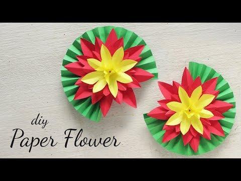 DIY Paper Flower | Flower Making | DIY