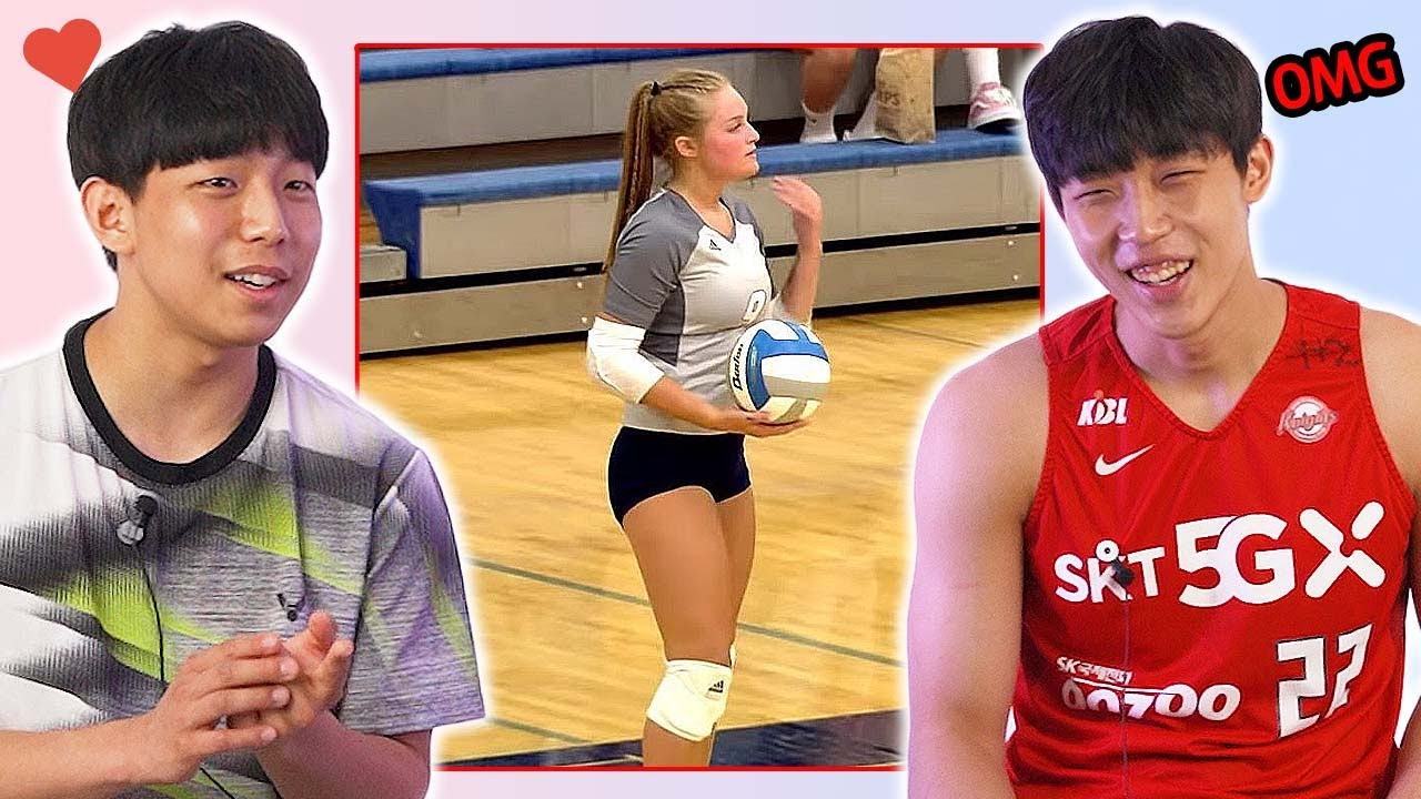 Korean Teen Sports Players Watch the Sports Skills of the US Teen Girls!
