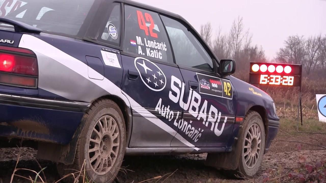 Lončarić Katić Subaru Legacy Gt 7 Rally Show Santa Domenica 2016 Lepold Sportvideo