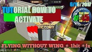 CRISIS ACTION 45_ TUTORIAL ACTIVATE NEW CHEAT FLY 1HIT FS / Cara Cheat Baru Terbang Tinggi No DC.