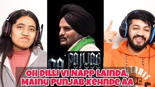 Panjab (My Motherland) Sidhu Moose Wala   TheKidd   NavkaranBrar Reaction   The Tenth Staar