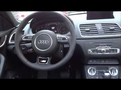 New audi audi q3 sline interior 2014 youtube for Interieur q3 s line