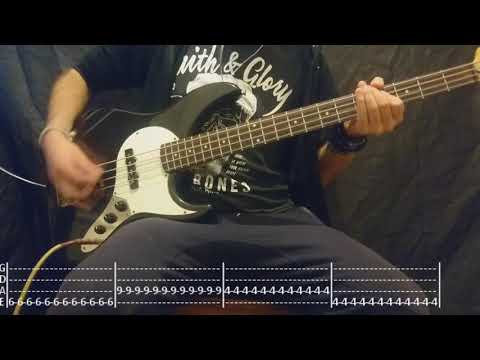 The Offspring - The Kids Aren't Alright Bass Cover (Tabs)