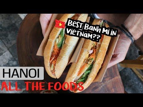 HANOI'S FAMOUS FOODS, SIGHTS & TRANSPORTATION OPTIONS