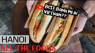 HANOI'S FAMOUS FOODS, SIGHTS & TRANSPORTATION OPTIONS