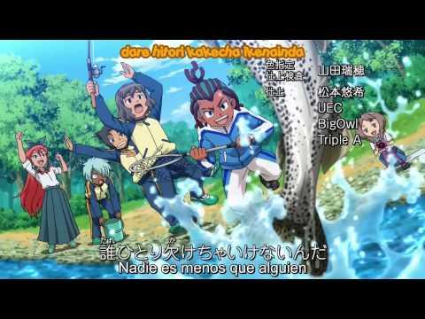 Inazuma Eleven GO Galaxy Ending 4 Final Sub Español HD