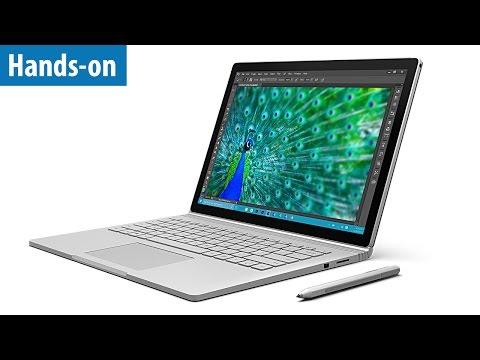 Microsoft Surface Book - Hands-on / Erster Test | deutsch / german