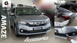 2018 Honda Amaze Complete Accessories | price included | actual look !!!