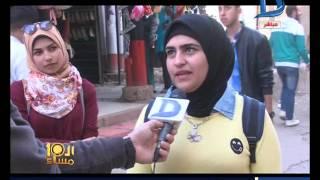 العاشرة مساء|شخص يعلق لافتة عليها لفظ خارج لحبيبته فى كفر الشيخ بمناسبة عيد الحب