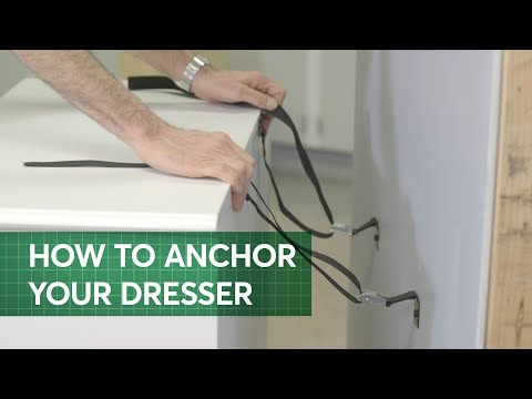 How to Anchor Furniture to Avoid Tip-Overs | Consumer Reports