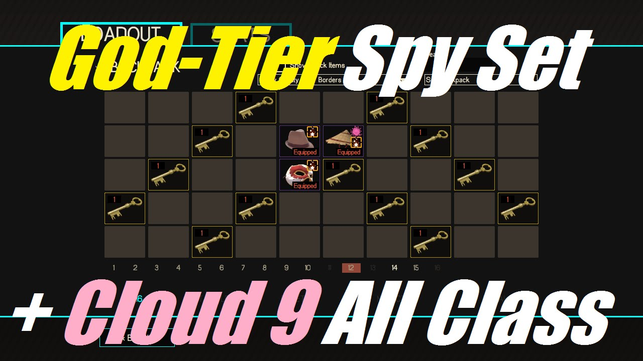 TF2: NEW! God-Tier Spy Set + Unusual Hong Kong Cone
