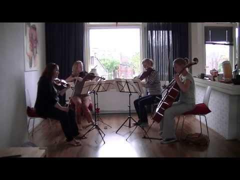 Wagner - Tristan und Isolde: Prelude & Verklärung (Liebestod), arrangement for string quartet