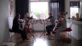 R. Wagner - Tristan und Isolde: Prelude & Verklärung (Liebestod), arrangement for string quartet