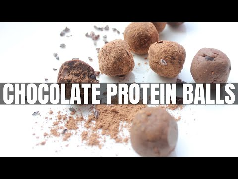 How To Make Protein Balls For Weight Loss Without Sugar (CHOCOLATE TRUFFLE BALLS UNDER 50cals)