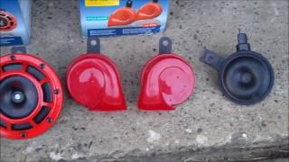 HELLA 3399801 Supertone Horns vs HELLA 7424801 Twin Trumpet Horns